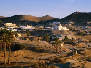 Troglodyte Dwellings Above Ground, Matmata, Tunisia by Peter Ptschelinzew