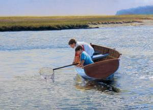 Crabbing by Peter Quidley