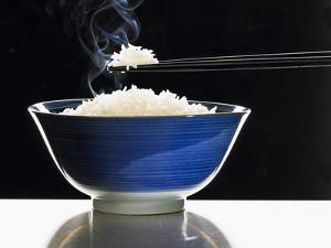 A Bowl of Steaming Rice by Peter Rees