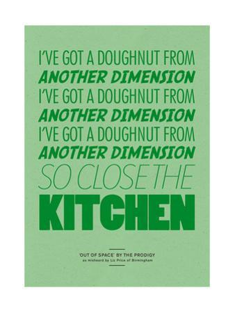I've Got a Doughnut from Another Dimension