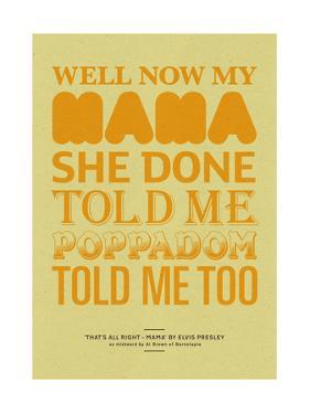 Poppadom Told Me by Peter Reynolds