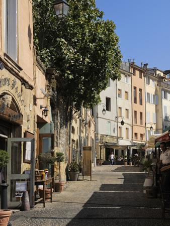 Al Fresco Restaurants, Place Forum Des Cardeurs, Aix-En-Provence, Bouches-Du-Rhone, Provence, Franc