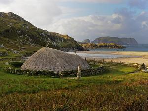 Bosta Iron Age House, Great Bernera Iron Age Village, Isle of Lewis, Western Isles, Scotland, Unite by Peter Richardson