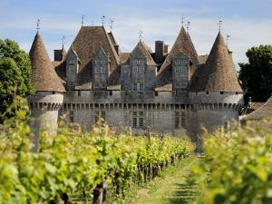 Chateau De Monbazillac, Monbazillac, Dordogne, France, Europe by Peter Richardson
