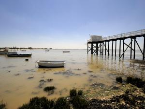 Fishing Jetty, Fouras, Charente-Maritime, France, Europe by Peter Richardson