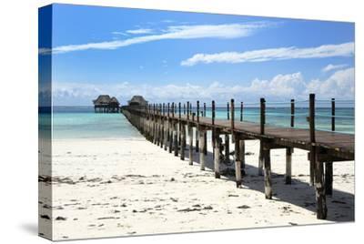 Hotel Jetty, Bwejuu Beach, Zanzibar, Tanzania, Indian Ocean, East Africa, Africa