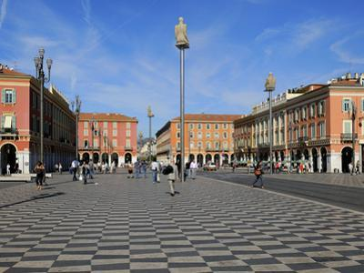 Place Massena, Nice, Alpes Maritimes, Provence, Cote D'Azur, French Riviera, France, Europe by Peter Richardson