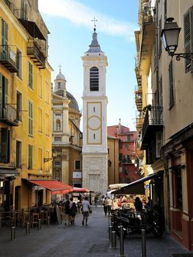St. Reparate Cathedral, Place Rosseti, Old Town, Nice, Alpes Maritimes, Provence, Cote D'Azur, Fren by Peter Richardson