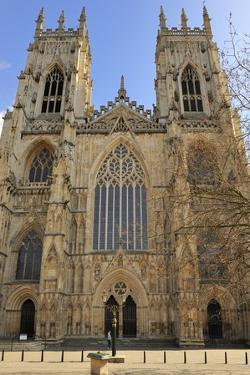 The Western Front of York Minster by Peter Richardson