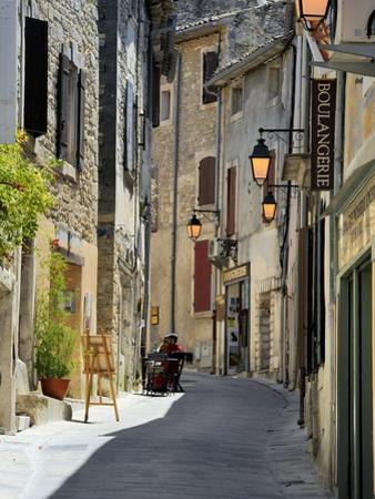 Traditional Old Stone Houses, Les Plus Beaux Villages De France, Menerbes, Provence, France, Europe by Peter Richardson