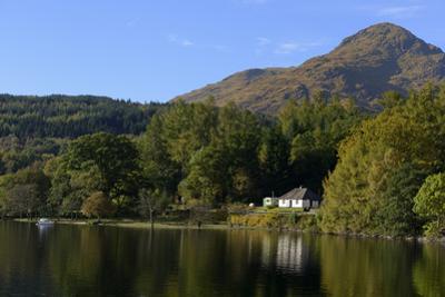 Waterside Cottage, Inveruglas, Loch Lomond, Stirling, Scotland, United Kingdom, Europe