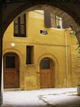 Venetian Architecture, Xania, Island of Crete, Greek Islands, Greece by Peter Ryan