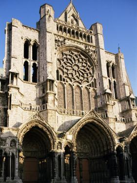 Chartres Cathedral, Unesco World Heritage Site, Chartres, Centre, France by Peter Scholey