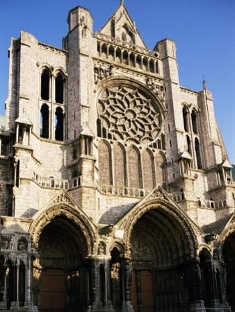 Chartres Cathedral, Unesco World Heritage Site, Chartres, Centre, France