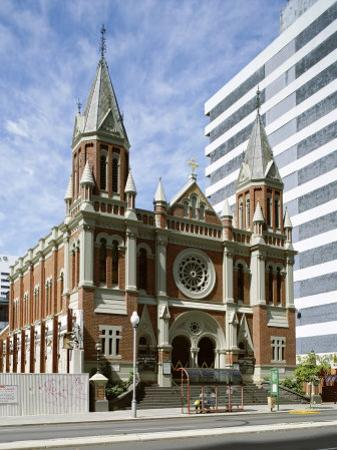 Exterior of Trinity Church, Perth, Western Australia, Australia by Peter Scholey