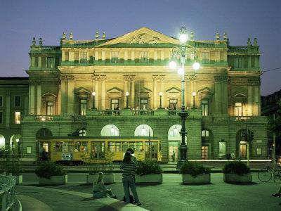 La Scala Opera House, Milan, Lombardia, Italy