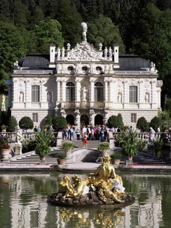 Linderhof Castle, Bavaria, Germany by Peter Scholey