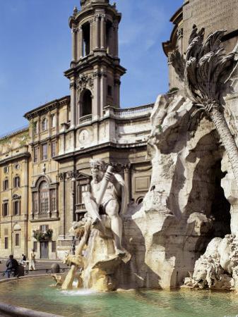 Piazza Navona, Rome, Lazio, Italy by Peter Scholey