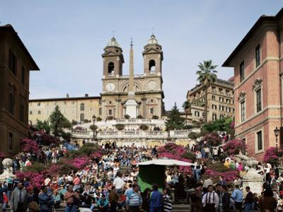 Spanish Steps, Rome, Lazio, Italy by Peter Scholey