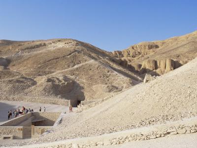 Tomb of Tutankhamen, Valley of the Kings, Unesco World Heritage Site, Thebes, Egypt by Peter Scholey