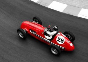 Historical race car at Grand Prix de Monaco by Peter Seyfferth