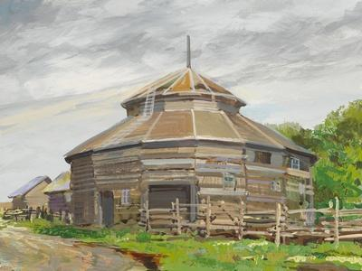 Round Barn Fort Edmonton