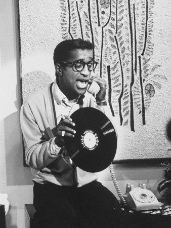 "Actor Sammy Davis Jr. on TV Show ""The Big Party"""