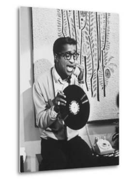 """Actor Sammy Davis Jr. on TV Show """"The Big Party"""" by Peter Stackpole"""