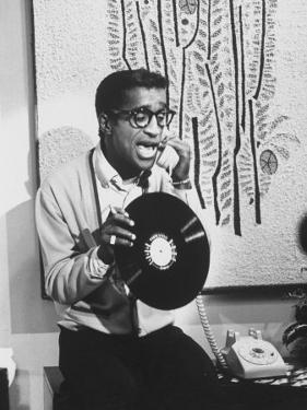 "Actor Sammy Davis Jr. on TV Show ""The Big Party"" by Peter Stackpole"