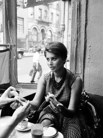 Actress Sophia Loren by Peter Stackpole