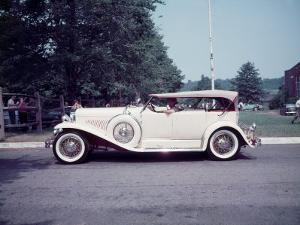 Side View of Classic 1930 Dusenberg Phaeton by Peter Stackpole