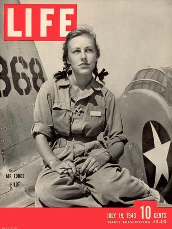 Slade Learns to be Ferry Pilot for Air Force, Women's Flying Training Detachment, July 19, 1943