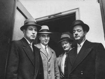 "The Nyc Detectives Who Arrested the ""Mad Bomber"" George Metesky by Peter Stackpole"
