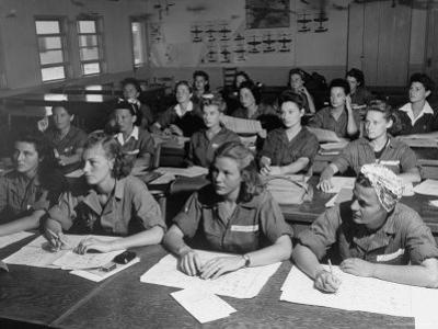 Women's Flying Training Detachment, Pilots in Training For the Women's Auxiliary Ferrying Squadron by Peter Stackpole