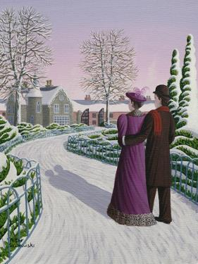 Home at Twilight, 1996 by Peter Szumowski