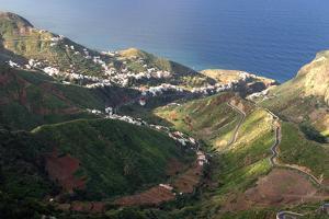 Anaga Mountains, Tenerife by Peter Thompson
