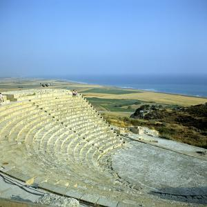 Ancient Roman Theatre, Curium, Limassol, Cyprus by Peter Thompson