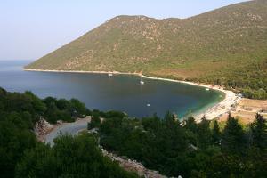Antisamos (Captain Corellis Beach), Kefalonia, Greece by Peter Thompson