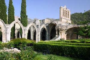 Bellapais Abbey, North Cyprus by Peter Thompson
