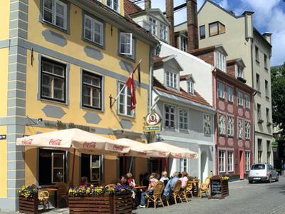 Cafe on Meistaru Iela, Riga, Latvia