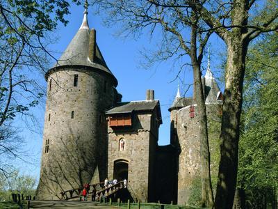 Castell Coch, Tongwynlais, Near Cardiff, Wales