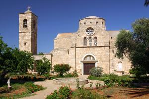 Church and Monastery, North Cyprus by Peter Thompson