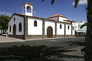 Church, La Lajita, Fuerteventura, Canary Islands by Peter Thompson