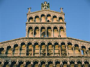Church of San Michele, Lucca, Tuscany by Peter Thompson