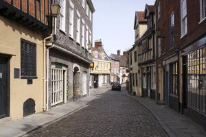 Elm Hill, Norwich, Norfolk, 2010 by Peter Thompson