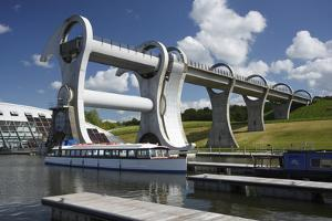 Falkirk Wheel, Stirlingshire, Scotland, 2009 by Peter Thompson