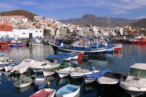 Harbour, Los Cristianos, Tenerife, Canary Islands, 2007 by Peter Thompson