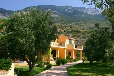 Holiday Apartments, Lourdas, Kefalonia, Greece by Peter Thompson