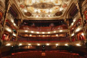 Interior of the Grand Opera House, Belfast, Northern Ireland, 2010 by Peter Thompson