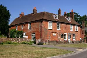 Jane Austens House, Chawton, Hampshire by Peter Thompson